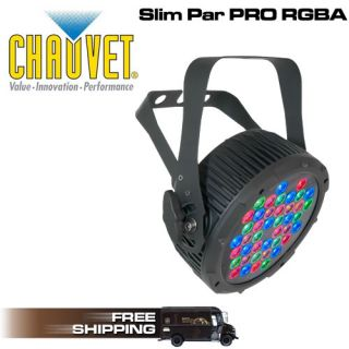CHAUVET LIGHTING SLIMPAR PRO RGBA LED WASH WITH AMBER SLIM PAR
