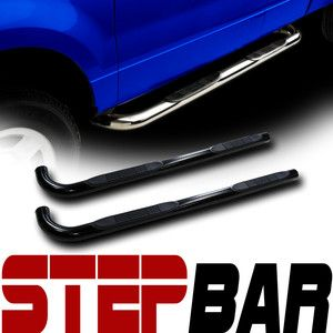 Bars Rail Running Board 02 09 Chevy Trailblazer GMC Envoy BK