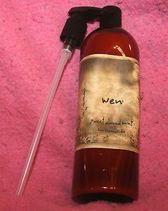 Wen by Chaz Dean Body Cleanser Sweet Almond Mint 32 oz New