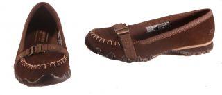 Skechers Focused Shoes Black or Chocolate Womens Medium Width