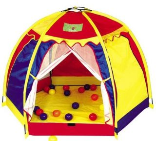 New Childern Light Yellow Yurts In&Outdoor Pop Up House Kids Play Tent