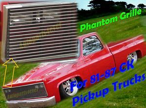 Phantom Grille for 81 87 82 85 84 1986 Chevy CK Pickup