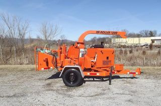 2002 Woodchuck Hyroller 1200 Wood Chipper Auto Feed