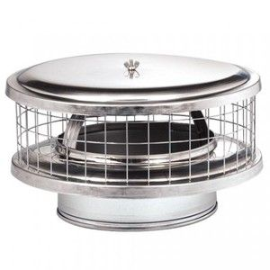 10 Yuco Stainless Steel All Weather All Fuel Chimney Cap