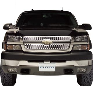 Stainless Grille Insert Chevy Silverado 2500HD 3500 2005 2006