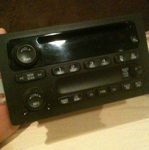 Used 2005 Chevrolet Silverado Factory CD Player Radio