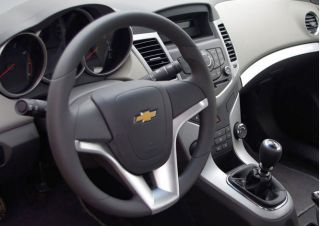 Chrome Steering Wheel Trim Cover Fit Chevrolet Cruze Aveo