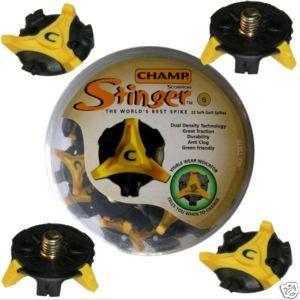 PK CHAMP STINGER GOLF SPIKES SMALL THREAD 22 Pcs,
