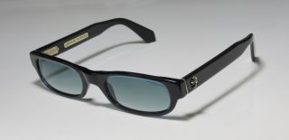 New Chrome Hearts Ironwood Black Blue Silver Sunglasses Shade Case