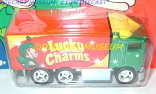 Semi Truck Lucky Charms Cereal Geneal Mills Hot Wheels Diecast