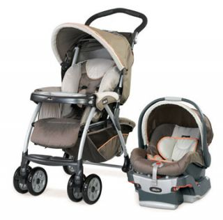 Chicco Cortina KeyFit 22 Travel System Stroller and KeyFit Infant Car
