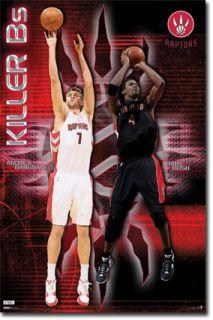 NBA Toronto Raptors Chris Bosh Andrea Bargnani Poster