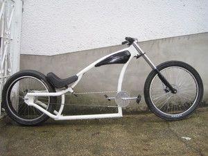 Chopper Bike Custom Bicycle Chopper Custom Built Bike