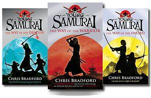 Young Samurai Chris Bradford 3 Books Collection The Way of Dragon