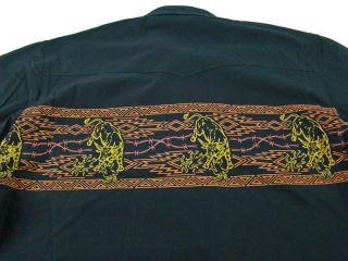 Mens Wrangler Western Checotah Cowboy Long Sleeve Shirt MC1183M Sz M L