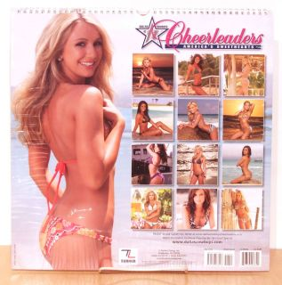 Huge New 2011 Dallas Cowboy Cheerleaders Wall Calendar