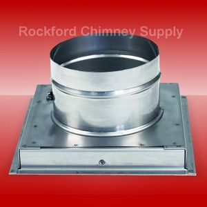 Stainless Steel 24ga Chimney Cap Chase Cover Custom Fit