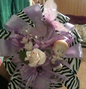 Animal Print Zebra Cheetah Print Baby Shower Corsage Chose Your Color