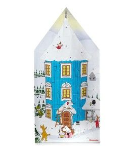Moomin Christmas Advent Calendar 2012 Fast Shipping