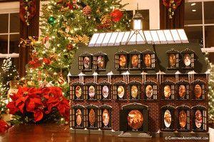 Christmas Advent House Christmas Advent Calendar