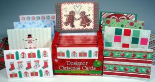 LOT 70 BLANK CHRISTMAS GREETING NOTE CARDS w/ENVELOPES BLANK INSIDE
