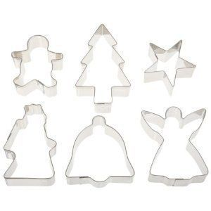 Ateco Stainless Steel Christmas Cookie Cutters