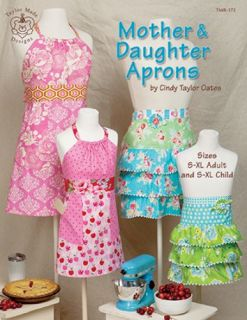 mother daughter aprons brand taylor made designs pattern type craft