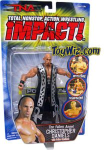 TNA Wrestling Figure Fallen Angel Christopher Daniels