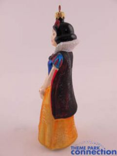 Disney Christopher RADKO Snow White & the 7 Dwarfs Christmas Ornament