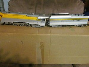 Lionel O Scale 18043 Chesapeake Ohio 490 4 6 4 HUDSON LOCOMOTIVE