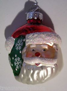 Christopher Radko 3 Sun Moon Collectible Santa Claus Christmas Tree