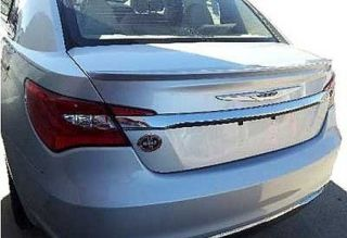 CHRYSLER 200 SPOILER; LO PRO STYLE; PRE PAINTED QUICK & EASY INSTALL