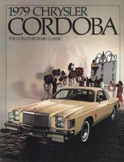 1979 Chrysler Cordoba Dealer Sales Brochure Book