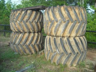 Skidder wheels and tires   flotation   John Deere