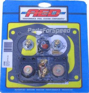 AED Holley 4165 Rebuild Kit Double Pump Spreadbore Carb