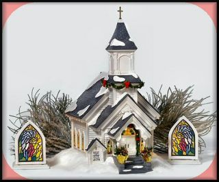 Silent Night Church NEW Department Dept. 56 Snow Village D56 SV