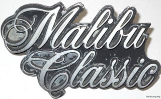 76 77 Chevrolet Malibu Classic GRILLE EMBLEM badge logo 377075