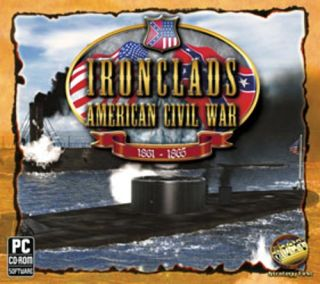 Ironclads American Civil War New PC XP Vista 7 SEALED