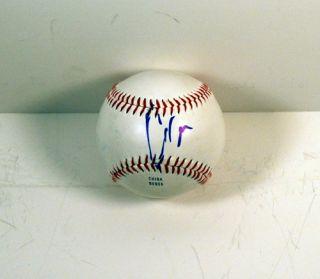 Chris Evans Signed Autograph Baseball Captain America The Avengers COA