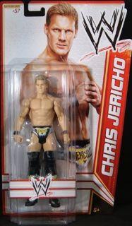 Chris Jericho WWE Mattel Basic Series 22