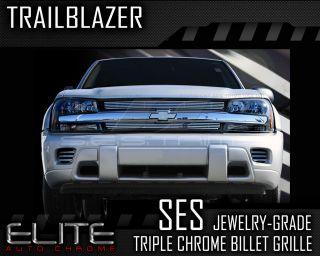 2002 2006 Chevy Trailblazer LS Ses Chrome Billet Grille