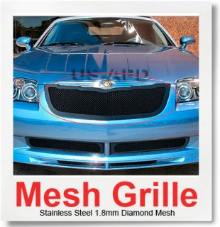 fitment 2004 2008 chrysler crossfire material stainless steel color