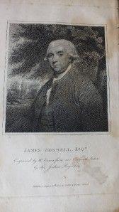 1807 BOSWELL, JOURNAL of TOUR to HEBRIDES, SAMUEL JOHNSON, SCOTLAND