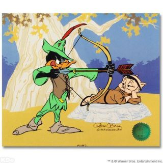 Chuck Jones Robin Hood Bow Error Le Cel Daffy Duck