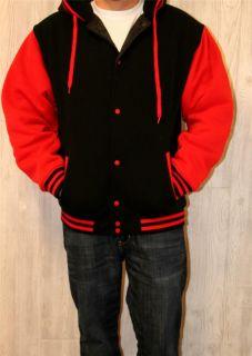 Trust Chicago Bulls Varsity Colors Jacket Hoodie Sweatshirt Size XL