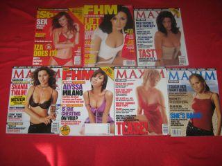Maxim FHM Stuff: Christina Applegate, Alyssa Milano, Shannon Elizabeth