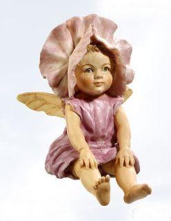 Cicely Mary Barker Baby Sweet Pea Flower Garden Fairy Ornament