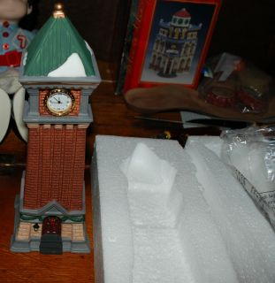 Holiday Time Clock Tower. Lionel Trains, Marx Trains & More. Christmas