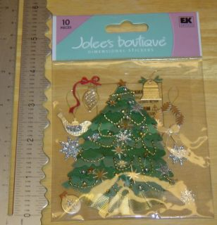 Jolees Boutique Christmas Tree Stickers by EK Success