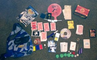 Marvins Mind Blowing Magic Kit Set Cards Extras Childrens Mini